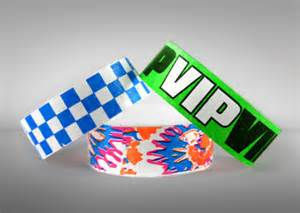 Vinyl Wristbands from About Face Solutions Ltd