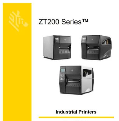 Zebra ZT220 label Printer User Guide