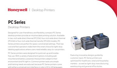Honeywell PC42t Thermal Transfer Desktop Printer