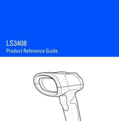 Zebra LS3408-ER Rugged Barcode Scanner User Guide