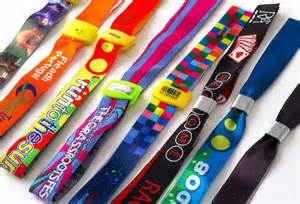 Fabric Wristbands from About Face Solutions Ltd